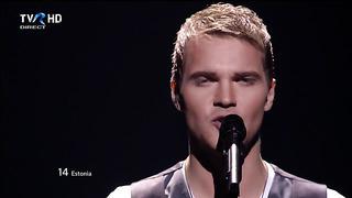 HD Eurovision 2012 Estonia: Ott Lepland - Kuula (Semi-Final 2)