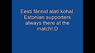 eesti jalgpalli fännid stadionis