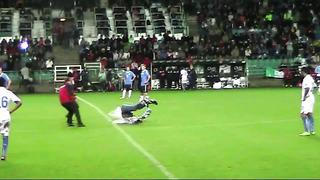 Estonia-Italy streakers jalgpallis