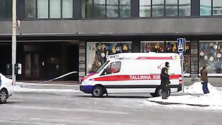 Fire in centre of Tallinn with huge forces