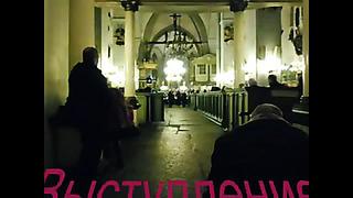 Laste koor TV ja radio Peterburgist Tallinnas