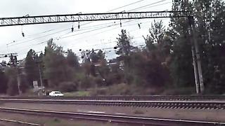 Поезд GO ДР1А Таллинн-СПб проследует станцию Кобралово