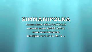 SIMMANIPOLKA-eesti tants