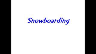 Snowboarding in Tallinn