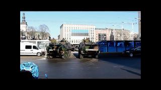 Eesti Vabariik 95 - Natukene sõjatehnikat kaitsejõudude paraadilt