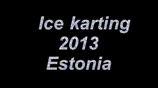 Ice karting 2013 CRG following