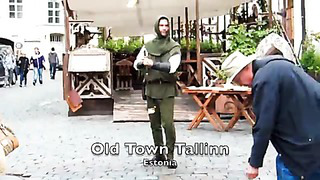 Fire Twirler - Tallinn, Estonia