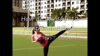 Learn How To Speak Estonian - Kaksteist Kuud (funny)