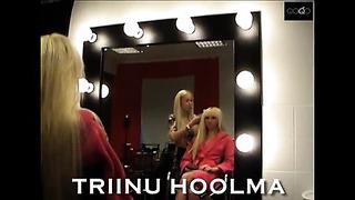 Triinu Hoolma - erotic photoshoot, Tallinn, Estonia