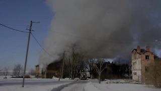 Fire in Tallinn,Kopli 2013 Tulekahju Tallinnas Koplis HD