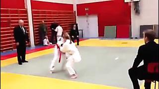 Anne-Liis Kruusi Estonian judogirl, Finland 2013