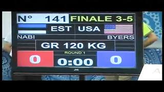 GR 120kg - Bronze - Dremiel Byers vs. Heiki Nabi (EST)