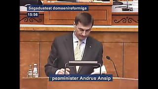 Domeenireform küsimused: Kadri Simson, Olga Sõtnik ja Ain Seppik