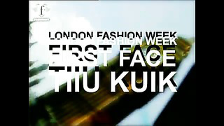 MODELS TIIU KUIK - FIRST FACE LONDON FASHION WEEK