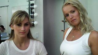Makeup artist Piret Aava