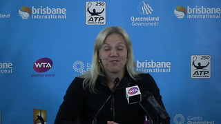 Kaia Kanepi women's singles champion_ Brisbane International 2012