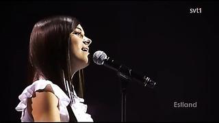 rootsi tv1 - eurovisiooni eel - eesti võistluslaul