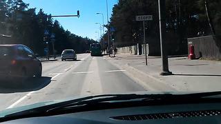 Эстония ! Таллин ! Центральные улицы в ГАВНО !