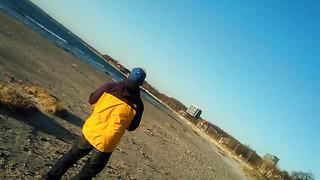 Ventura 1.8 powerkite Tallinn beach 10m