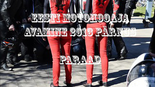 Eesti Motohooaja Avamine 2013 Pärnus, Paraad (1080pHD)