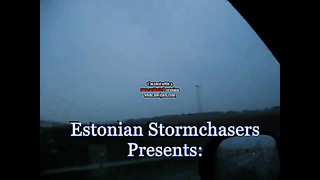 Thunderstorm in Estonia 19.05.2013. (Virumaa, Rakvere, Pajusti).