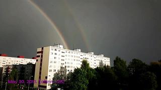 Double Rainbow - Spring 2013. Tallinn. (Nokia 808)