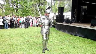 25.05.2013 Valhalla. Knights fighting. Tallinn-Estonia