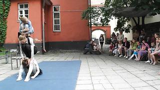BALTIC STUDENT ACTION, Andrea Hellmann, Sophie Bartelt, Tag 26 Tallinn, TREFF Festival Tallinn