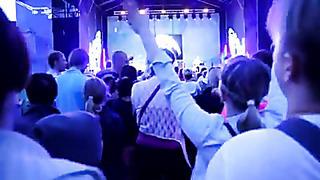 Нарва ,Эстония 8 июня 2013г Дни города Вячеслав Бутусов (Ю-Питер)