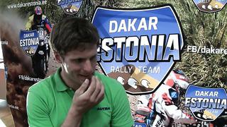 Dakar Rally Team Estonia liige Toomas Triisa räägib reedel alanud Albaania rallist