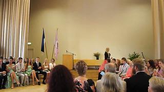 Tallinna Ühisgümnaasiumi 9. klassi lõpukõne