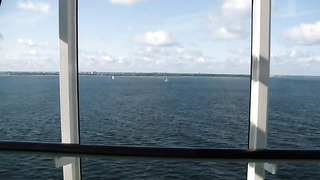 M_S Baltic Queen Approche to Tallinn