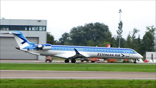 Tallinn Airport Airlines spotting 2011 part 1