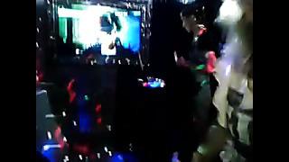 Alexandra Lodez & Elina Netshajeva in LaiF Karaoke Club, Tallinn, Lai 5