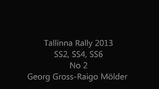FORD FOCUS WRC G.Gross-R.M_lder Tallinn Rally 2013 SS2