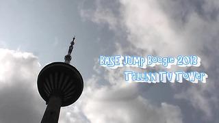 BASE Jump Boogie 2013 Tallinn TV Tower