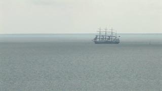 Барк _Крузенштерн_ в порту Силламяэ, Эстония