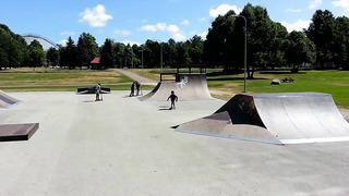 Skateboard in Tallinn