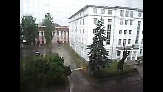Tormenta (Storm) en Tartu, Estonia. June 2013