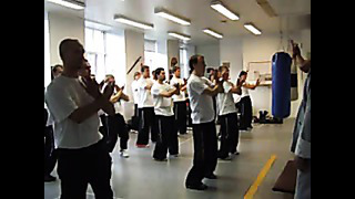 Wing Tsun test - 1 level student - Estonia. Экзамен в Винг Тсун