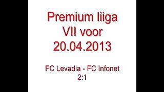 Premium liiga VII voor: FC Levadia - FC Infonet 2:1