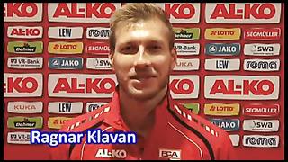Ragnar Klavani tervitus Jalgpalligalal