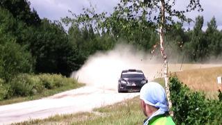 Estonia rally 2013 G. Gross mistake SS5