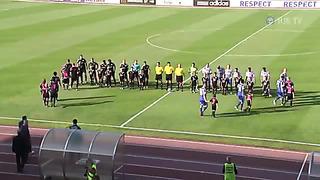 Champions League. 2 round. 2 match. Nõmme Kalju - HJK 2_1