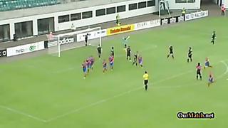Kalju Nõmme 0-4 Viktoria Plzen (C1) Champions League 2013