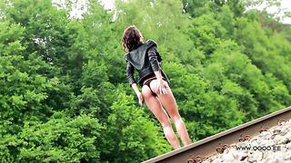 OLGA - QOQO Summer Girl nr.3 photoshoot TEASER, Jäneda, Estonia