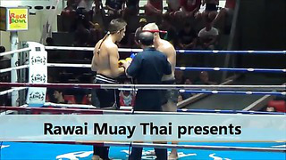 Tonis from Estonia fights in Patong Stadium_ 22 July 2013