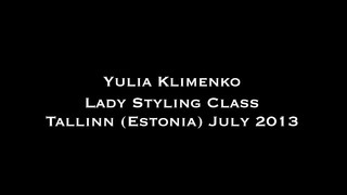 Yulia Klimenko - Salsa Lady Styling Workshop - Tallinn Estonia July 2013