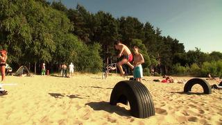 Tae Kwon Do kids @ Pirita (Tallinn, July 2013)