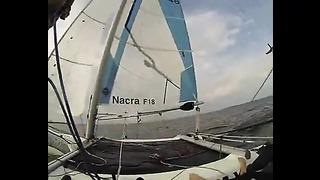 Nacra F18 Sailing @ Tallinn